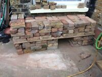 approx 200 yellow red victorian bricks