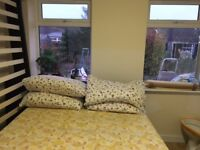 Newly built Independent en-suit double room, in a bungalow near town center & railway station
