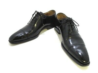 Auth Napolitano Rachele Black Leather Men
