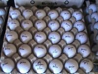 25 srixon golf balls with marks £4.50