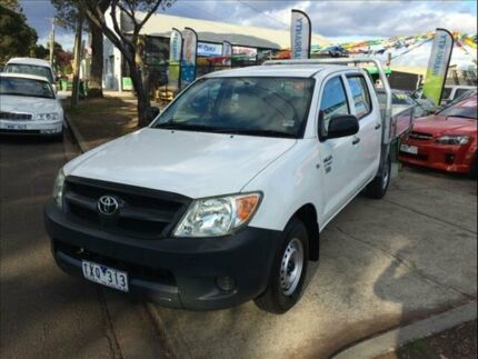 2006 Toyota Hilux TGN16R Workmate 5 Speed Manual Brooklyn Brimbank Area Preview