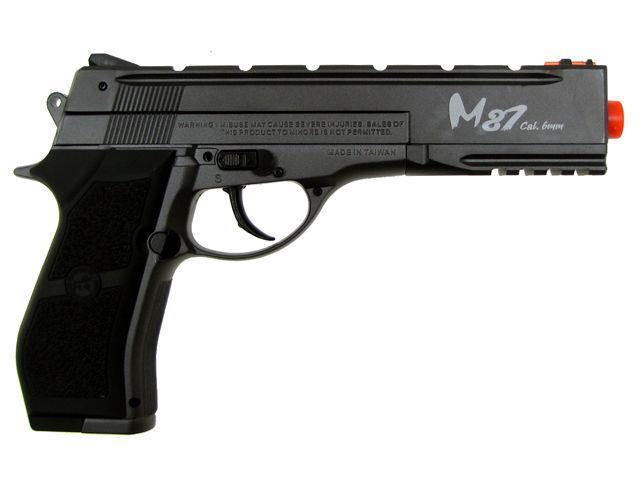 WG M87 Co2 Powered Full Metal Airsoft Gun Includes 1200 .20g BB