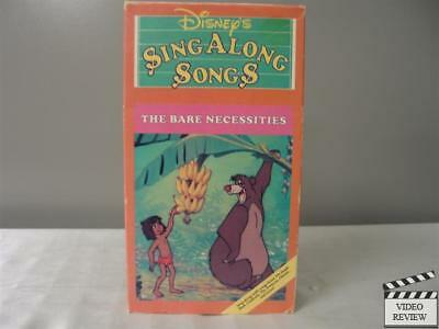 Disney Sing Along Songs - The Bare Necessities VHS Walt Disney Home Video](Bare Necessities Song)