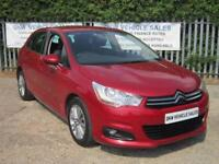 CITROEN C4 1.6 HDI 90 VTR+ RED 2011 (61) ONLY ONE PREVIOUS OWNER / S/HISTORY!!!!
