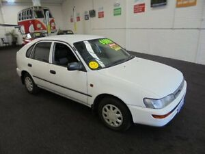 1997 Toyota Corolla AE101R CSi Seca White 5 Speed Manual Liftback Wangara Wanneroo Area Preview