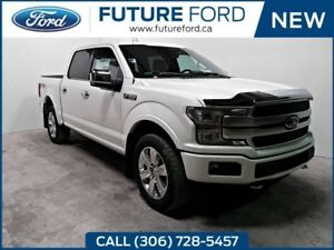 2018 Ford F-150 Platinum|TWIN PANEL MOONROOF|3.5 ECOBOOST|TRAILE