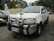 2006 Toyota Hilux KUN26R SR5 (4x4) White 5 Speed Manual X Cab Pickup Werribee Wyndham Area Preview