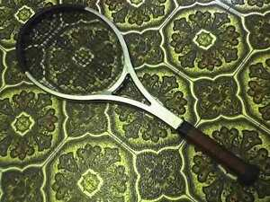 Vintage Wooden Tennis Racket Raquet