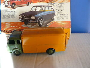 dinky toys ancien camion simca cargo fourgon r f rence 33 a ebay. Black Bedroom Furniture Sets. Home Design Ideas