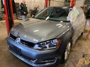 2015 Golf TSi Highline with 22k just in for sale at Pic N Save!!