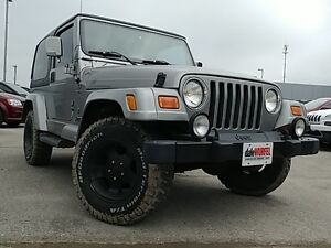 2001 Jeep TJ Sport 60th Anniversary - As Traded