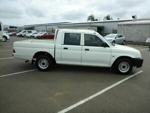 2004 Mitsubishi Triton MK MY04 GLX Double Cab White 5 Speed Manual Utility Vincent Townsville City Preview