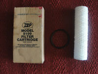 NEW Zep parts washer filter cartridge & O ring