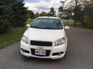2010 Chevrolet Aveo Hatchback - low mileage, great on gas