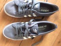 Size 7 Adidas Nizza Training Shoes Used (As New)