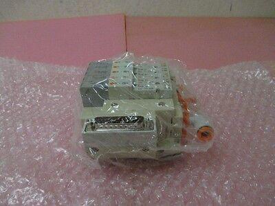SMC SS5V1-DUK01498 5 Station Manifold Assembly