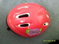Hearts & flowers childs helmet like new size 54-58cm