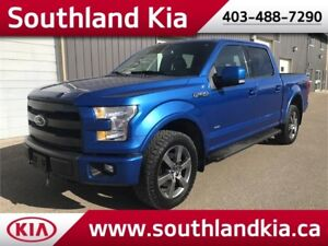 2015 Ford F-150 SuperCrew 4x4 LARIAT ***ECOBOOST-LEATHER-NAV**