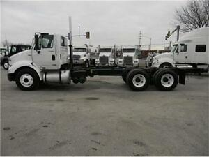 2011 INTERNATIONAL 8600 TANDEM CAB AND CHASSIS