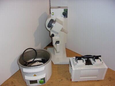 Buchi R-210 Rotavapor V-500 Pump B-491 Heating Bath