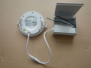 LED 4'' Slim panel/pot light 6W=60W cUL certified IC Rated Kitchener / Waterloo Kitchener Area image 3