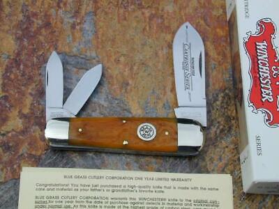 WINCHESTER 2003 HONEY CARTRIDGE SERIES SUNFISH TOENAIL WHITTLER USA KNIFE NMIB