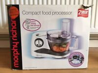Compact food processor by Morphy Richards