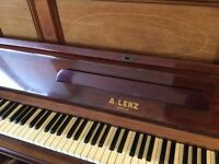 Upright Piano for sale : by A Lenz of Berlin