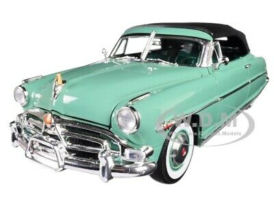 1952 HUDSON HORNET CONVERTIBLE GREEN LTD 600 PCS 1/18 DIECAST CAR ACME A1807503