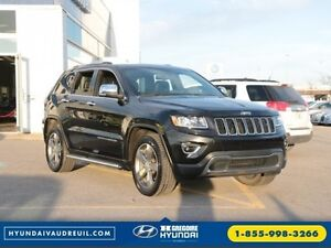 2014 Jeep Grand Cherokee Limited 4X4 A/C CUIR CAMERA BLUETOOTH M