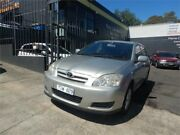 2005 Toyota Corolla ZZE122R Conquest Silver 4 Speed Automatic Sedan Burwood Whitehorse Area Preview