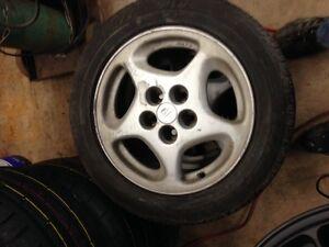 225/50ZR16 Michelins on 300zx 5x114.3 wheels