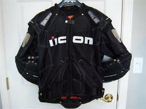 ICON TIMAX XL Jacket and Pants Combo