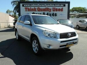 2008 Toyota RAV4 ACA33R MY08 Cruiser L Silver 4 Speed Automatic Wagon Caboolture South Caboolture Area Preview