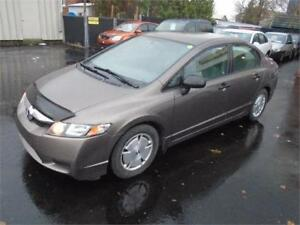 2010 HONDA CIVIC, 121000KM, AIR, GR.ELECT $5995