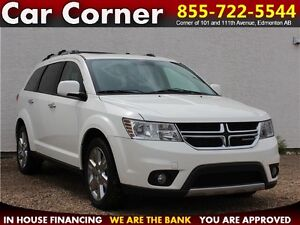 2012 Dodge Journey R/T $139 B/W! LOADED 7-PASSENGER/LEATHER/MORE