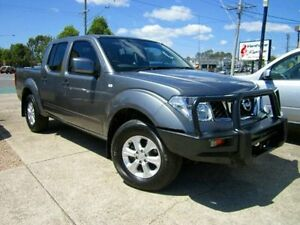 2013 Nissan Navara D40 S7 MY12 RX Grey 5 Speed Automatic Utility Noosaville Noosa Area Preview