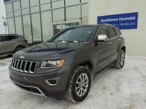 2016 Jeep Grand Cherokee LIMITED/LEATHER/SUNROOF/BACKUP CAM/HEAT