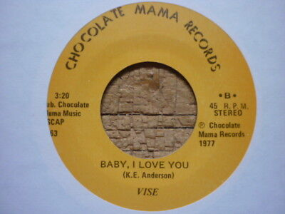 northern soul vise baby i love you chocolate mama reissue crossover  ()