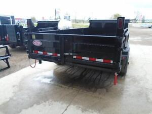 LARGEST DUMP IN THE INDUSTRY 7' X 16' BED - 7 TON IN STOCK NOW London Ontario image 3