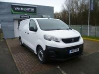 Peugeot Expert 1000 1.6 Bluehdi 95 S Van DIESEL MANUAL WHITE (2017)