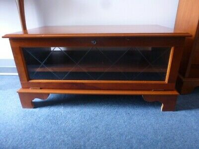 Reproduction Yew TV Stand/Cabinet