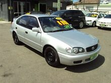 1999 Toyota Corolla AE102R Conquest Seca Silver 4 Speed Automatic Liftback Punchbowl 2196 Canterbury Area Preview