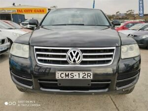 2006 Volkswagen Touareg 7L V6 Black 6 Speed Tiptronic Wagon Mitchell Gungahlin Area Preview