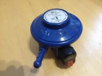 Butane Gas Low-Pressure clip-on gas regulator (TPA).
