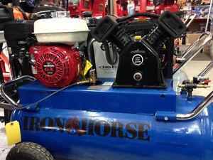 Compresseur à gaz 11 cfm neuf iron horse garantie