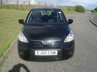 Hyundai i10 1.2 ( 76bhp ) Classic 2010 ONLY 54300Mls MOT 2/2/18 £30 tax Yr