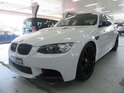 2011 BMW M3 E90 White 7 Speed Auto Direct Shift Sedan