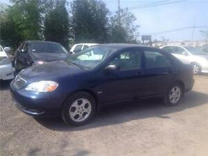 "2007 Toyota Corolla ""SE""-ONE OWNER-87,000 KM-FULLY LOADED-P/ROOF"