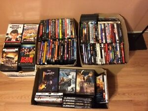 MASSIVE DVD COLLECTION - 308 Titles - Great Shape, All Originals